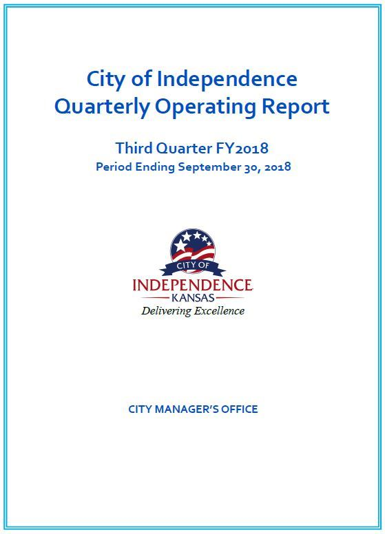 Third Quarter Financial Report Cover