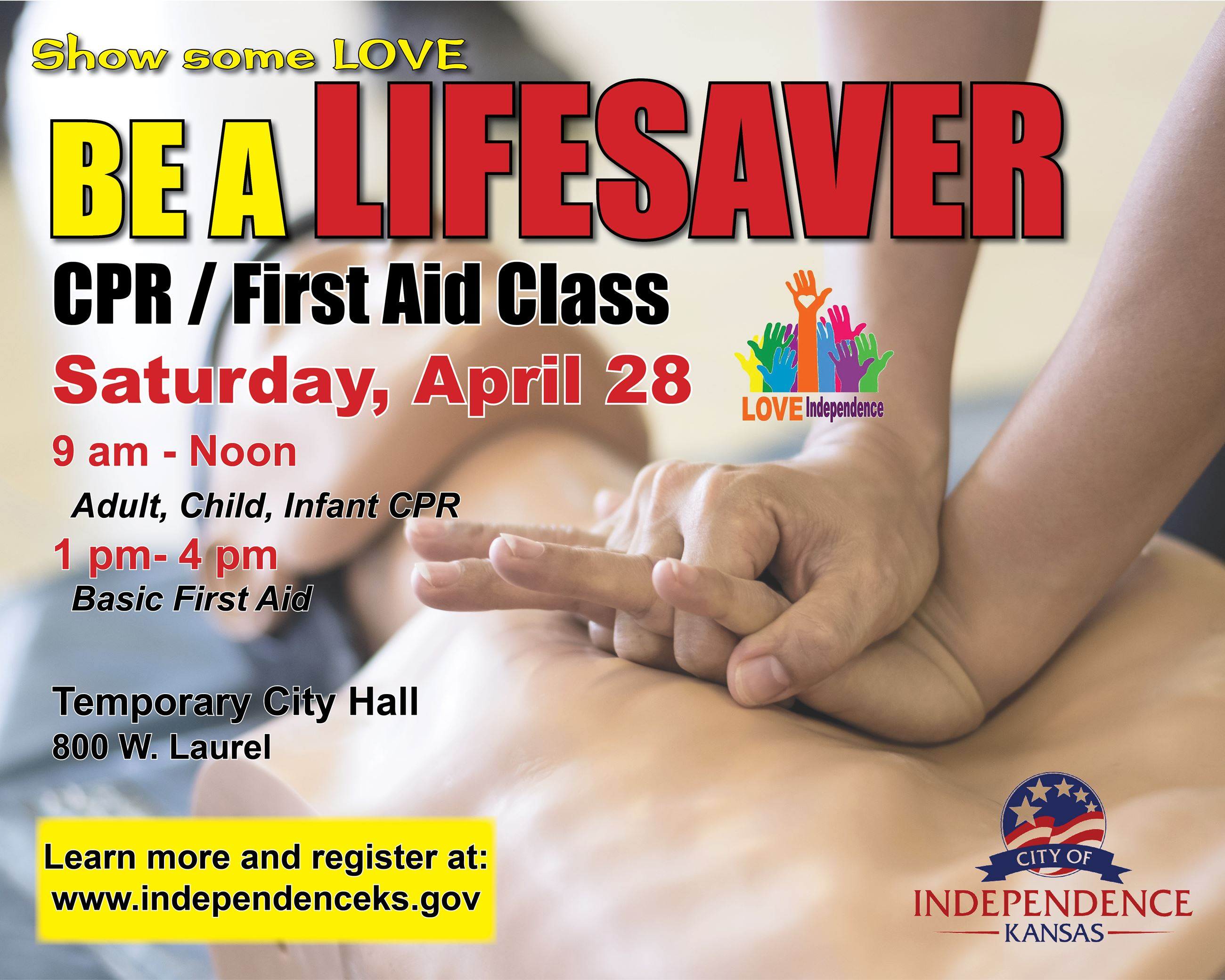 City of Indy CPR Class