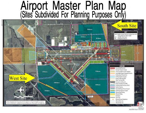Airport Master Plan Map